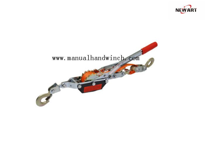 Color Webbing Hand Power Puller , Light Weight 1 Ton Come Along Cable Puller